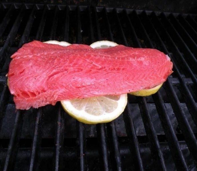 Πώς ψήνω στα κάρβουνα φιλέτο ψαριού ;