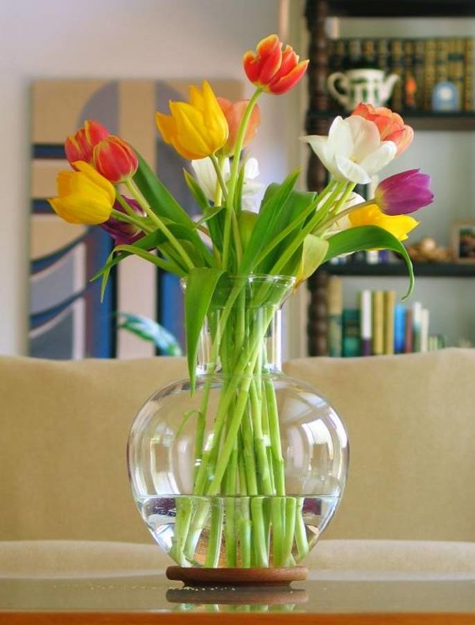 Λουλούδια στο βάζο