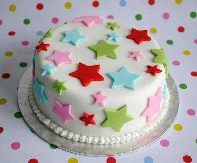 Πόση ζαχαρόπαστα χρειάζομαι για την τούρτα;
