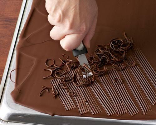 Πώς κάνω σχέδια με σοκολάτα (1)