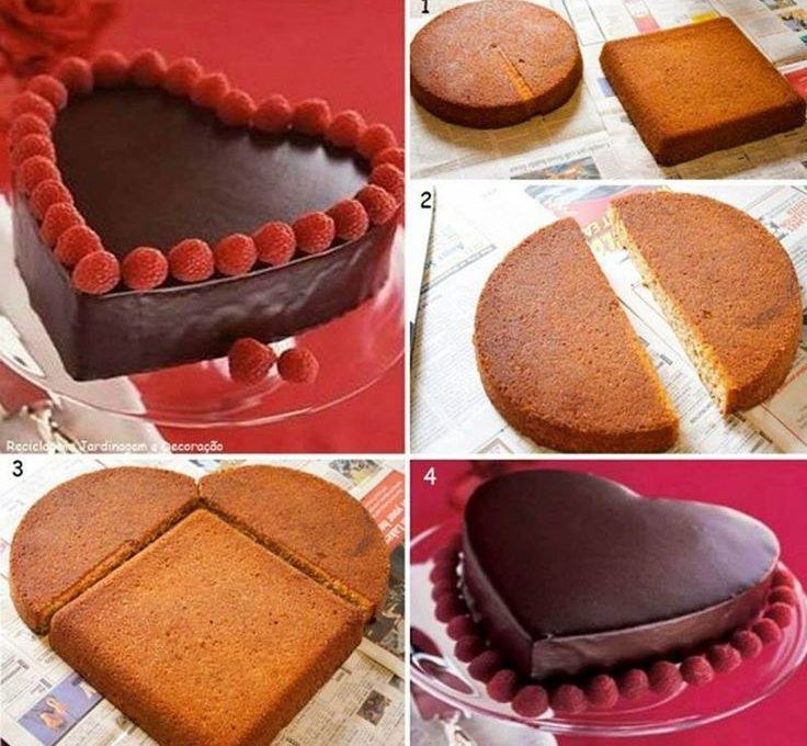 Πώς κάνω τούρτα-καρδιά