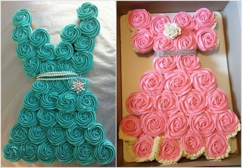 Τούρτα με cupcakes (2)