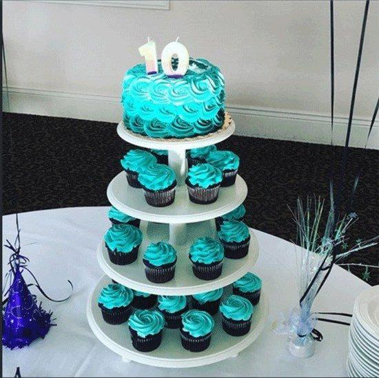 Τούρτα με cupcakes (1)