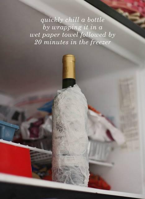 Πώς παγώνω γρήγορα το κρασί