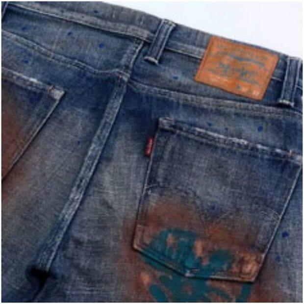 Σκουριά σε ρούχο