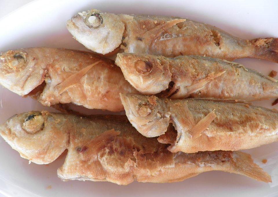 Μυστικό για τηγανιτά ψάρια