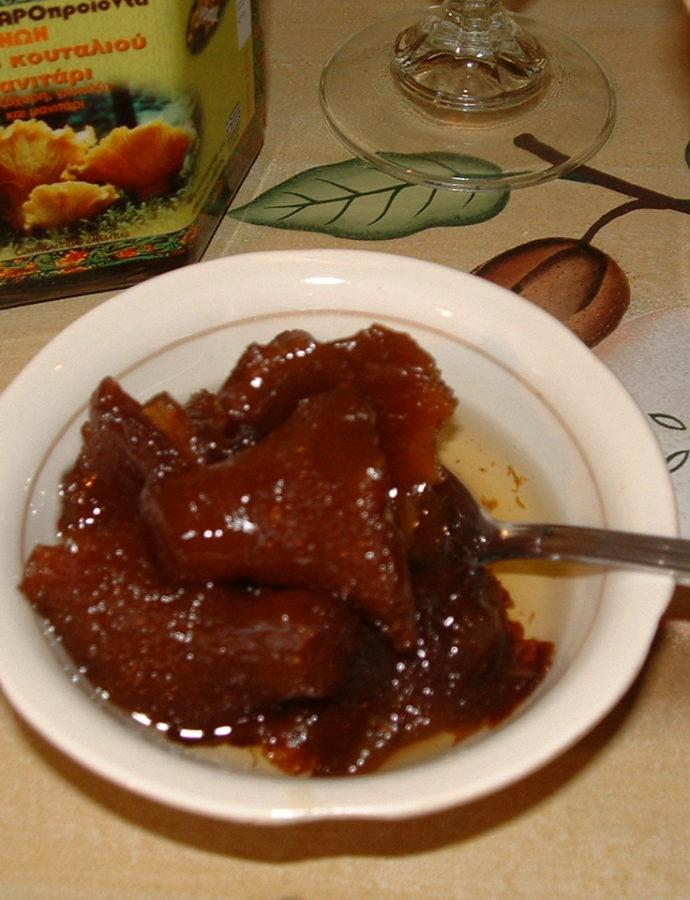 Γλυκό του κουταλιού μανιτάρι
