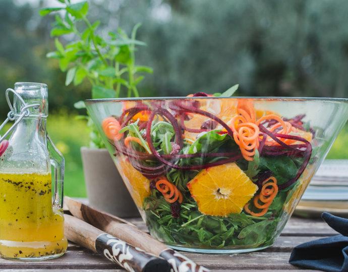 Πώς κάνω παχύρευστο dressing για σαλάτα