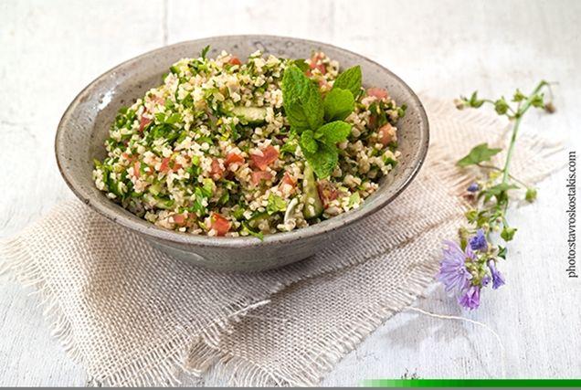 Ταμπουλέ σαλάτα (Λιβανέζικη σπεσιαλιτέ)
