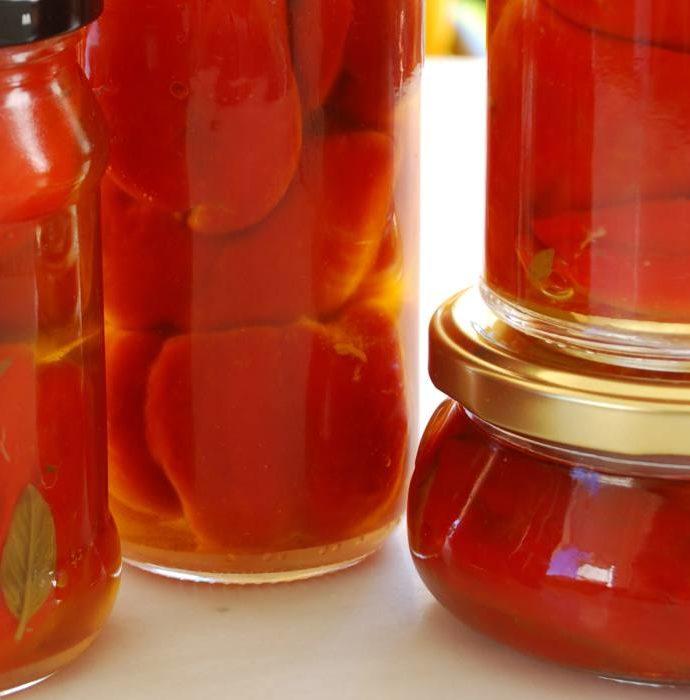 Πιπεριές φλωρίνης γεμιστές τουρσί