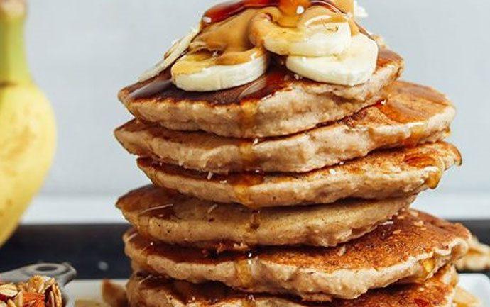Pancakes με ταχίνι