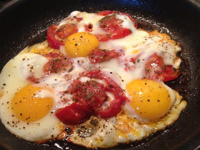 Αυγά προβενσάλ (provensal)