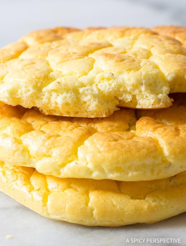 Cloud bread (ψωμάκια με βάση το αυγό)
