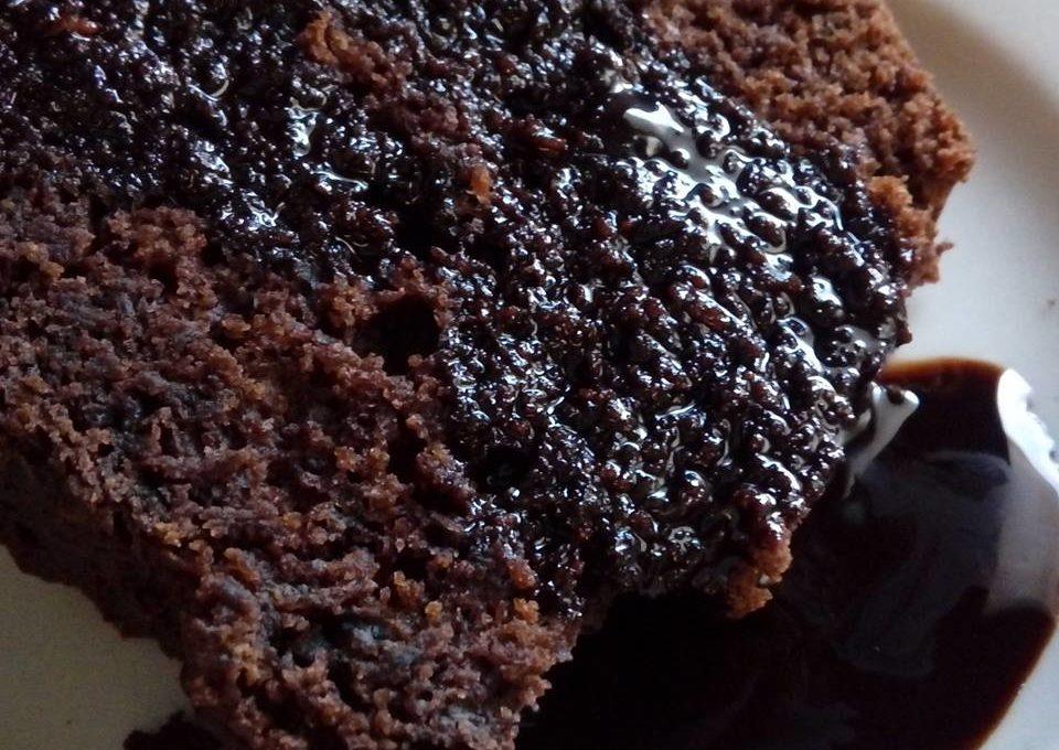 Κέικ νηστίσιμο με κακάο, χωρίς μίξερ