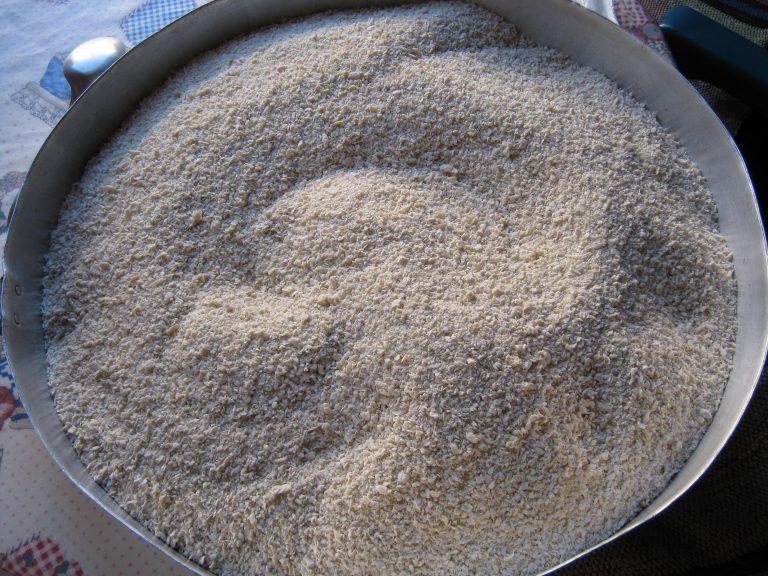 Τραχανάς γλυκός (παρασκευή)