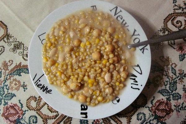 Πολυσπόρια συνταγή εθίμου Αιτωλοακαρνανίας