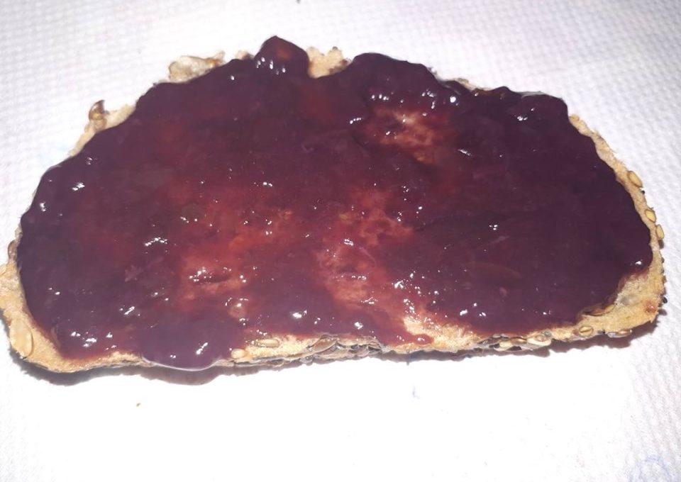 Μαρμελάδα σταφύλι χωρίς ζάχαρη