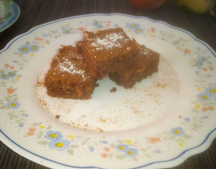 Brownies με σοκολάτα γάλακτος (μπράουνις)