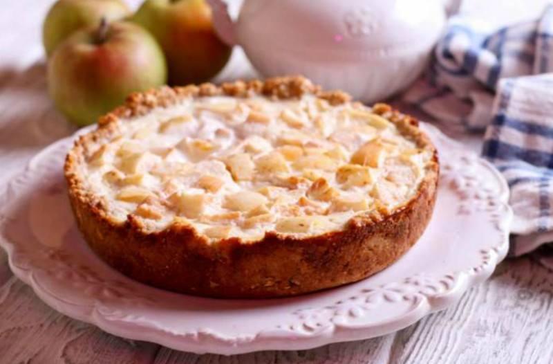 Φινλανδική μηλόπιτα