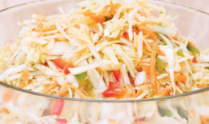 Σαλάτα Coleslaw (Κόλσλοου)
