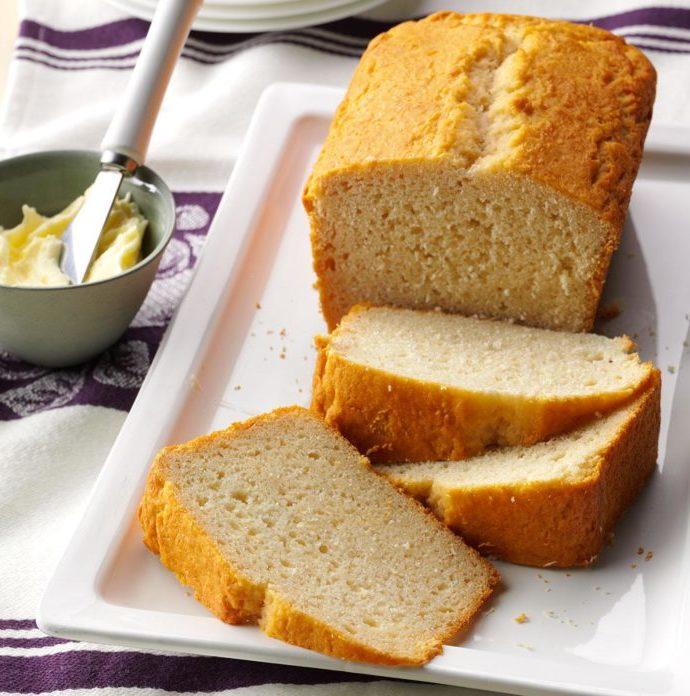 Ψωμί με μπύρα και μέλι