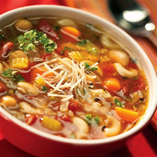 Μινεστρόνε σούπα ιταλική (νηστίσιμο)