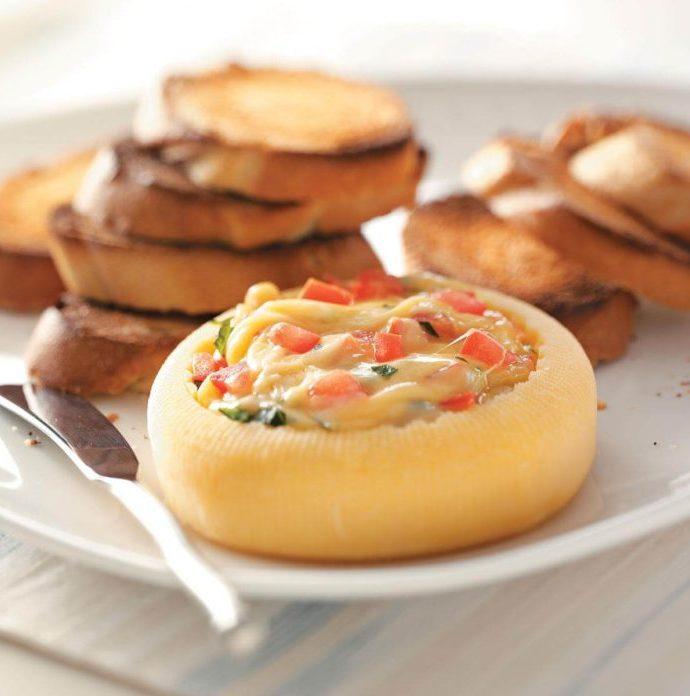 Τυρί Gouda γεμιστό!