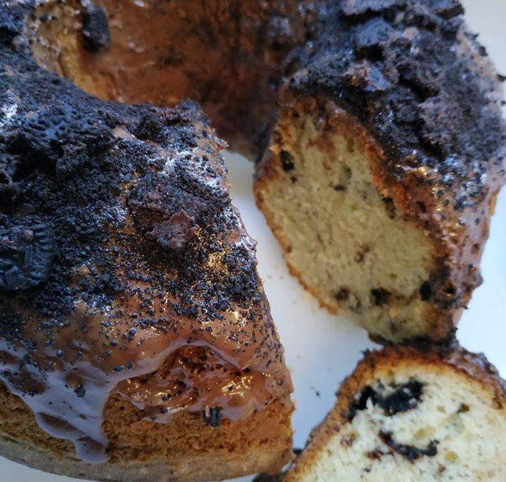 Κέικ με μπισκότα oreo