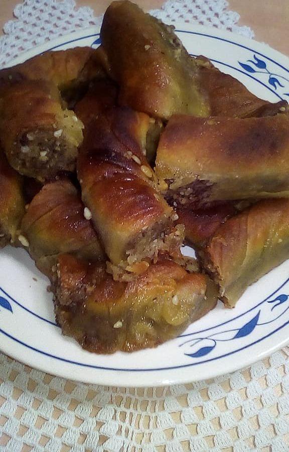 """Στριφτό με καρύδι (αρβανίτικη συνταγή) – """"ντεντρέδουρι"""""""