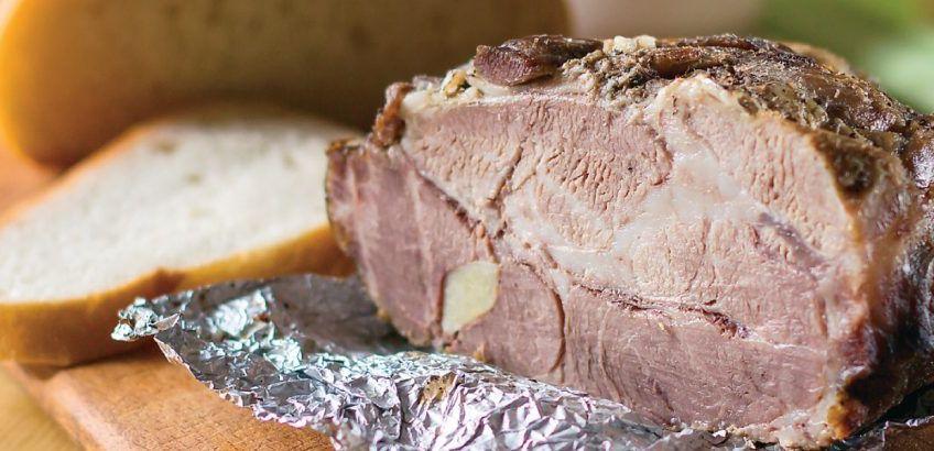 Χοιρινό ρόστο (pork roast beef)
