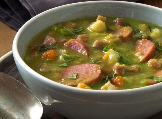 Ολλανδική σούπα (Erwtensoep)