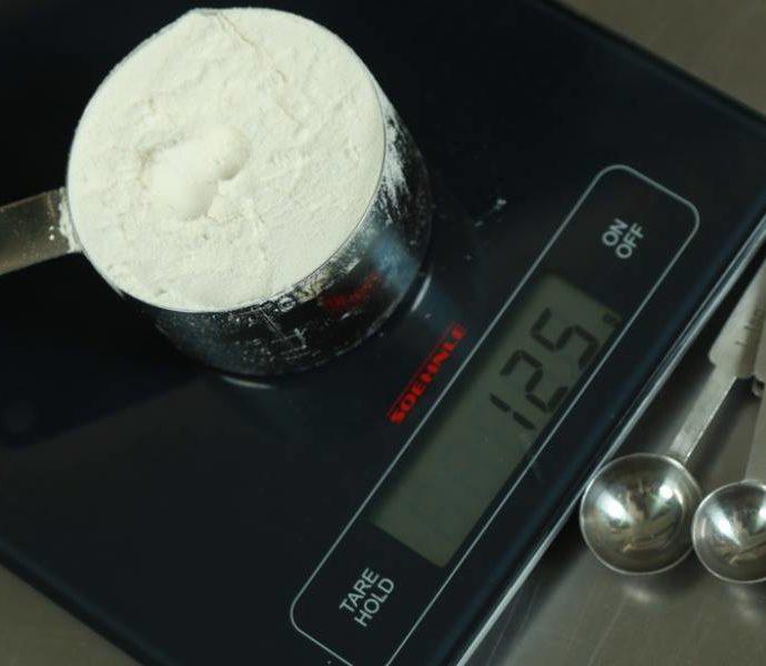 Αναλογίες υλικών (πόσο ζυγίζουν) κουζίνας