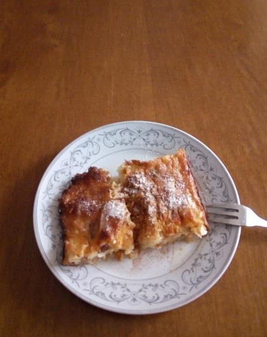 Πατσαβουρόπιτα γλυκιά