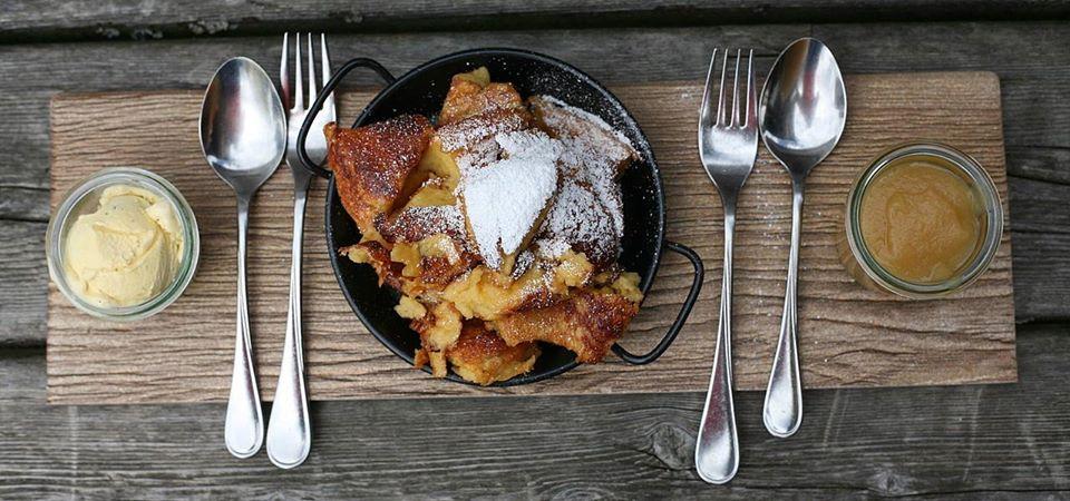Αυστριακά πάνκεικς (Kaiserschmarrn pancakes)