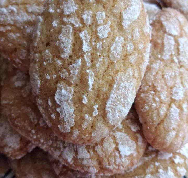 Μπισκότα λεμονιού κρακελέ