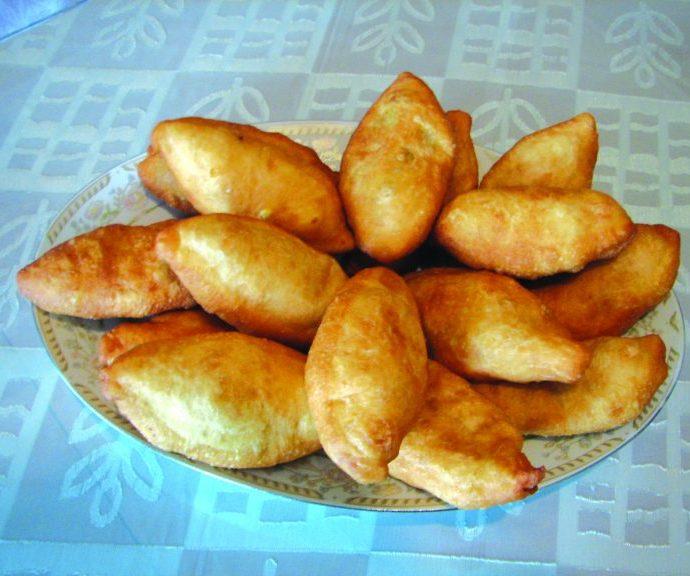 Πιροσκί με γέμιση πατάτας (νηστίσιμο)
