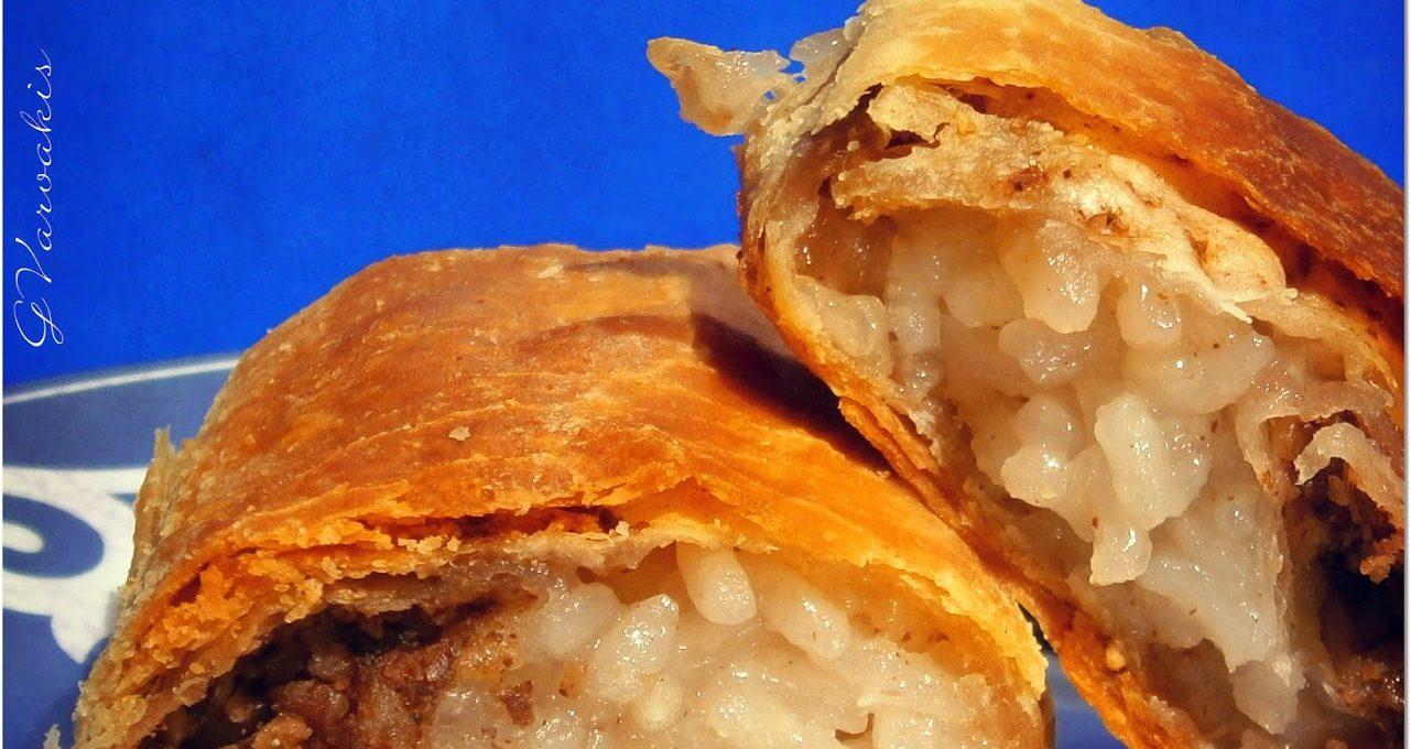 Ρυζόπιτα γλυκιά Θεσσαλίας