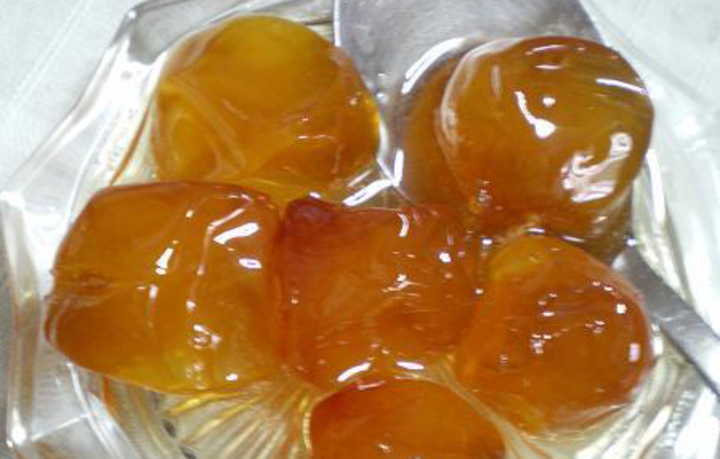 Βερίκοκο γλυκό του κουταλιού με ασβέστη (συνταγή από Ρόδο)