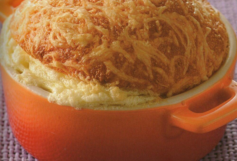 Σουφλέ τυριών αυθεντική συνταγή