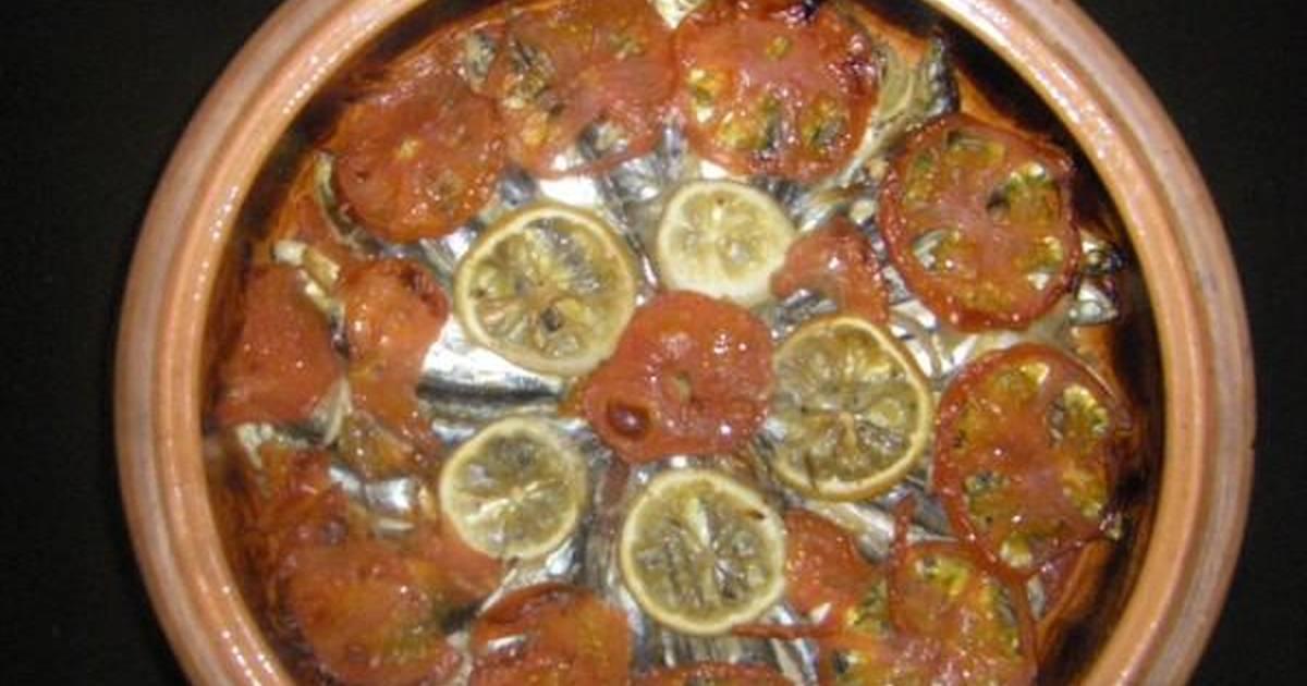 Χαψία Τούφα (ποντιακός γαύρος στο φούρνο)