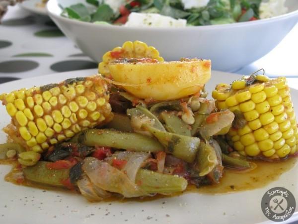 Μαγεργιό ή Μαεργιό Ικαρίας (λαδερό φαγητό με λαχανικά)