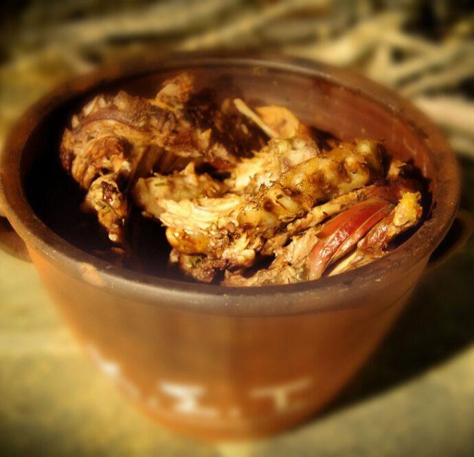 Μαστέλο Σίφνου (αρνάκι ή κατσικάκι με κρασί)