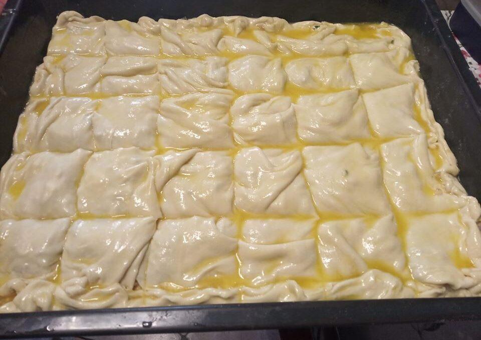 Φύλλο για πίτα (μέθοδος με 10 μπαλάκια)