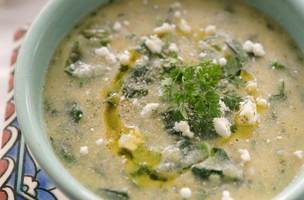Ικαριώτικη σούπα με λαχανικά