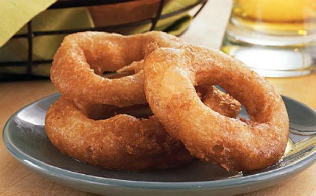 Δαχτυλίδια κρεμμυδιού (onion rings)