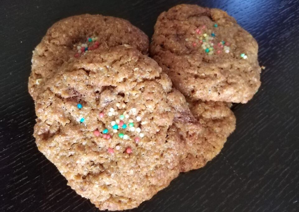 Cookies μπισκότα ολικής