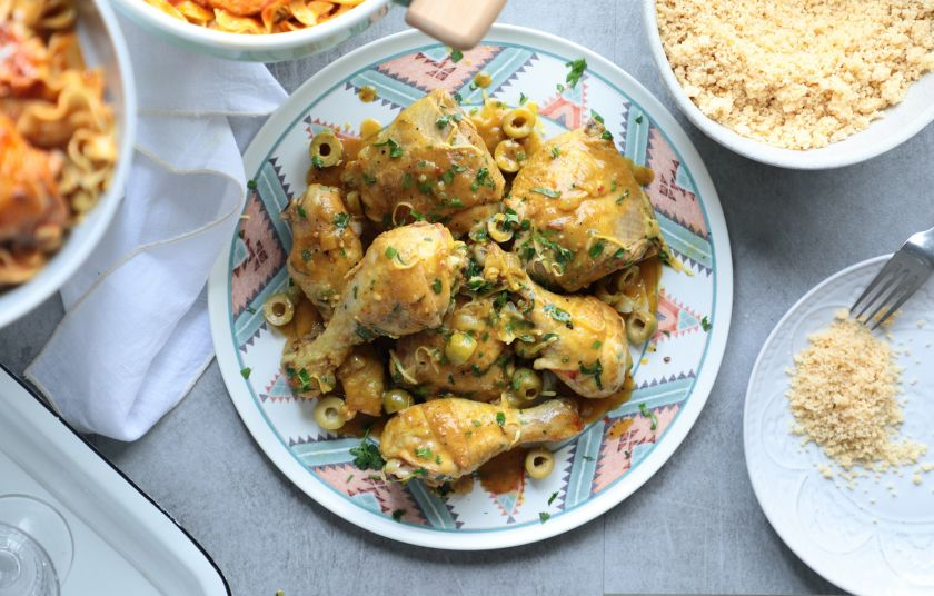 Κοτόπουλο με λεμόνι, σπεσιαλιτέ Μαρόκου