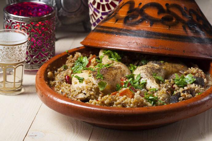 Κοτόπουλο ταζίν, σπεσιαλιτέ Μαρόκου