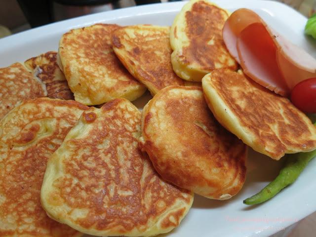 Τηγανίτες με γιαούρτι (σαν pancakes)