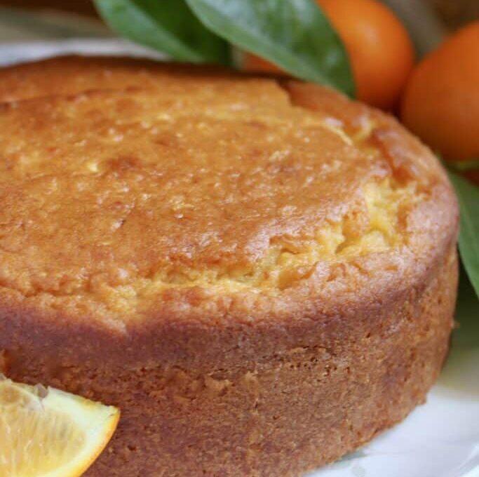 Κέικ με ολόκληρο πορτοκάλι (συνταγή Σικελίας)